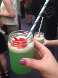 Fabulous West Coast Cooler cocktails at Belfast Fashion Week, courtesy of Zen
