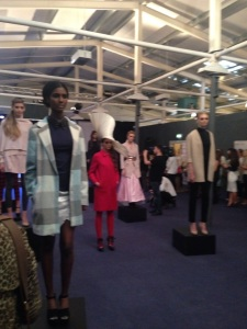 A stunning installation featuring the top trends for the season got the FASHIONWEEK press launch to a glamorous start