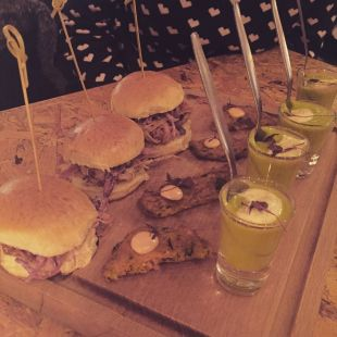 Remedy Cafe Bar Belfast, Fountain Street new menu launch including pulled pork sliders