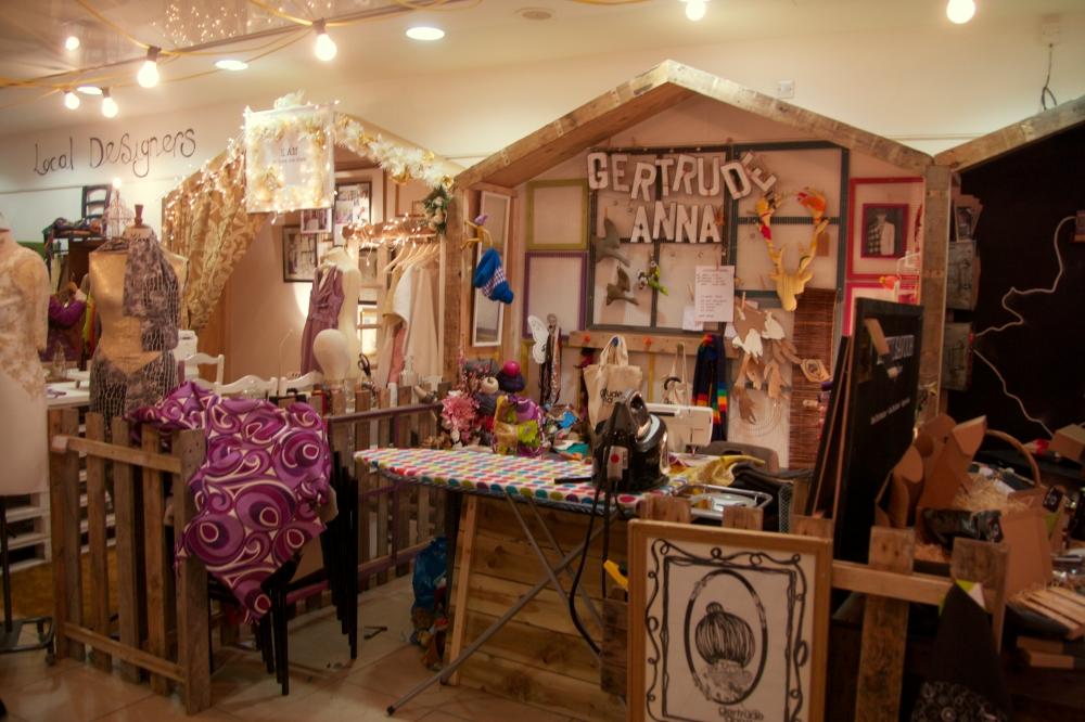 Local designer, Studio Souk, Castle Lane, Belfast