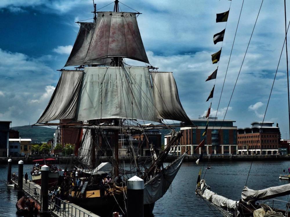 Belfast Titanic Maritime Festival Dramatic Ship