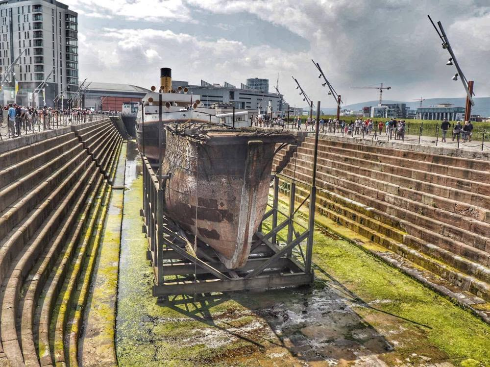Dry Docks at Titanic Slipways