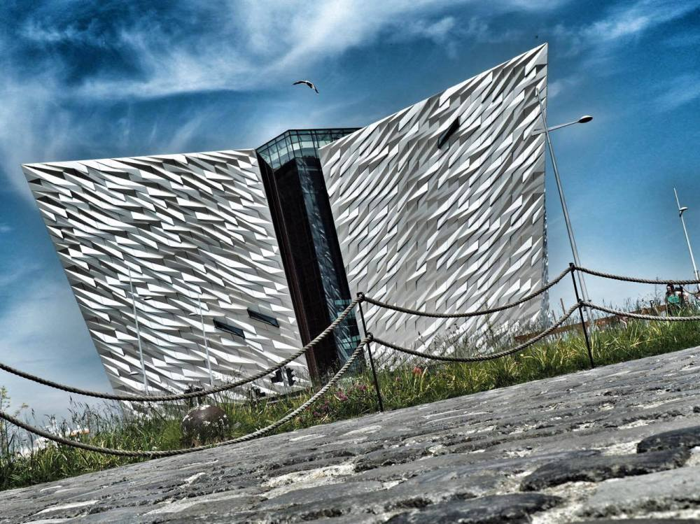 Titanic Belfast from ground level