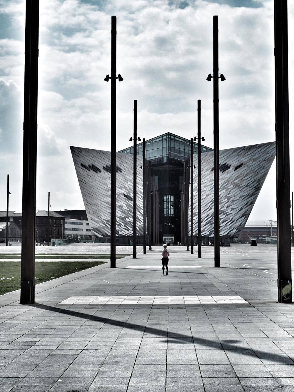 Titanic Belfast from slipways
