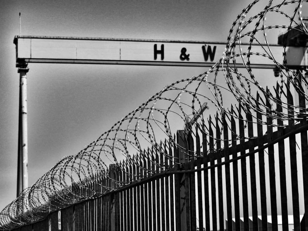 Harland and Wolf barbed wire